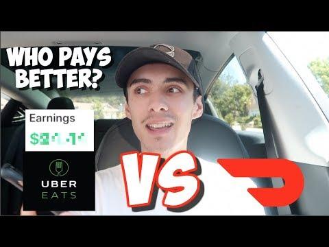 Doordash VS Uber Eats (Who Should You Drive For?)