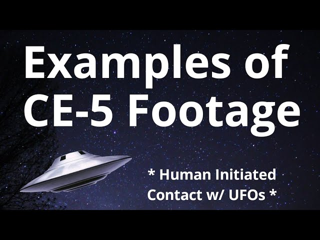 Examples of CE-5 Footage