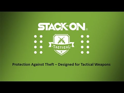 Stack-On Tactical Fire-resistant Gun Safe with electronic lock and ...