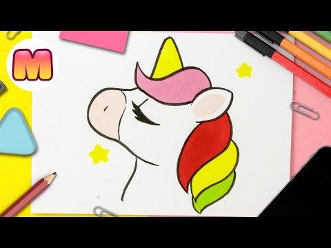 Como Dibujar Un Unicornio Kawaii Facil Paso A Paso Como