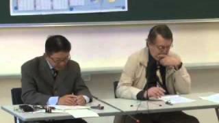 京都大学人間・環境学研究科「クレオールとは何か」ミシェル・ベニアミノ先生 西山 教行 准教授 2010年10月27日