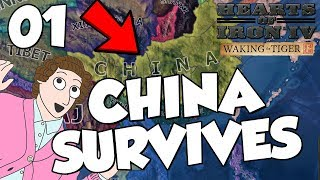 Hearts of Iron 4 HOI4 Waking The Tiger - China Survives Part 1