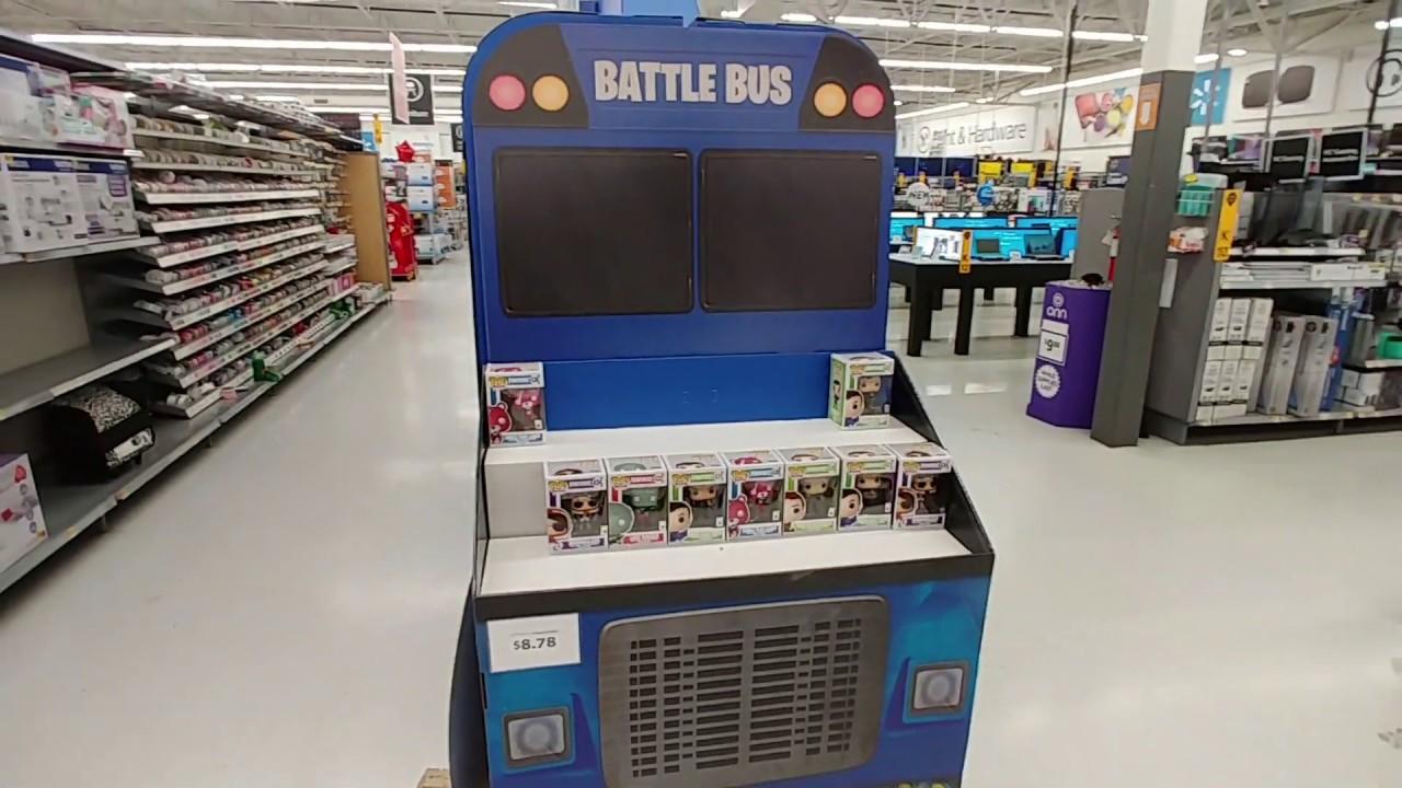 Fortnite Battle Bus At Walmart Dec 2nd 2018 Youtube
