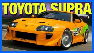 Forza Horizon 4 : The Toyota Supra!! (FH4 Toyota Supra Customization)