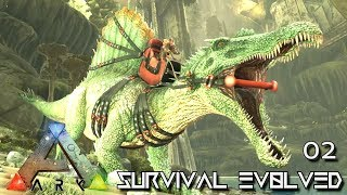 ARK: ABERRATION MODDED - ABERRANT SPINO LVL600 PERFECT TAME !!! E02 (GAMEPLAY ARK: SURVIVAL EVOLVED)