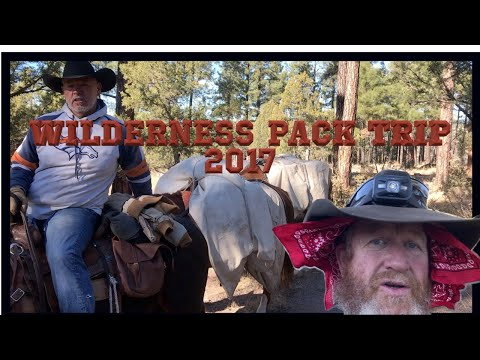 2017 Pack trip into the Gila Wilderness and Jordan Hot springs.