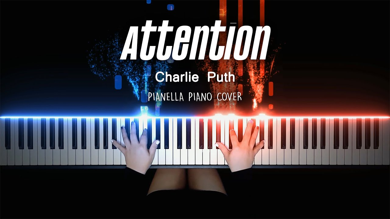 Charlie Puth - Attention | Piano Cover by Pianella Piano [Piano Beat]