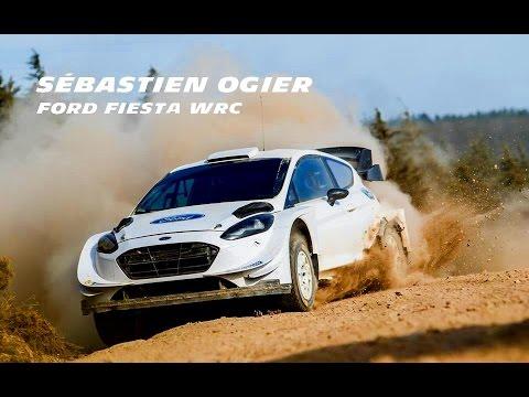 Test S bastien Ogier Ford Fiesta WRC Gis 2017 Full HD
