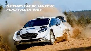 Test S bastien Ogier Ford Fiesta WRC Gis 2017 Full HD