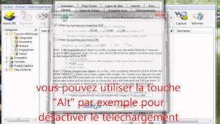Comment désactiver Internet download manager IDM
