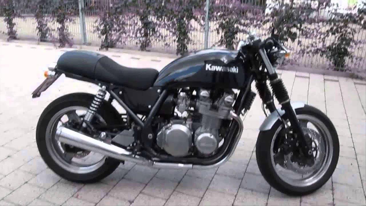 kawasaki zephyr 750 cafe racer - youtube