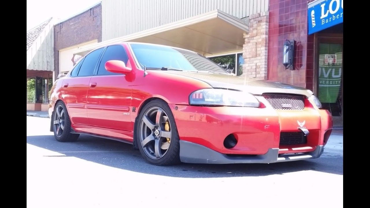 hight resolution of supercharged 2002 nissan sentra se r