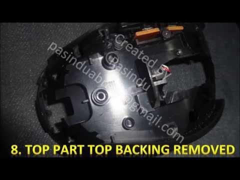 Logitech Marathon Mouse M705 repair