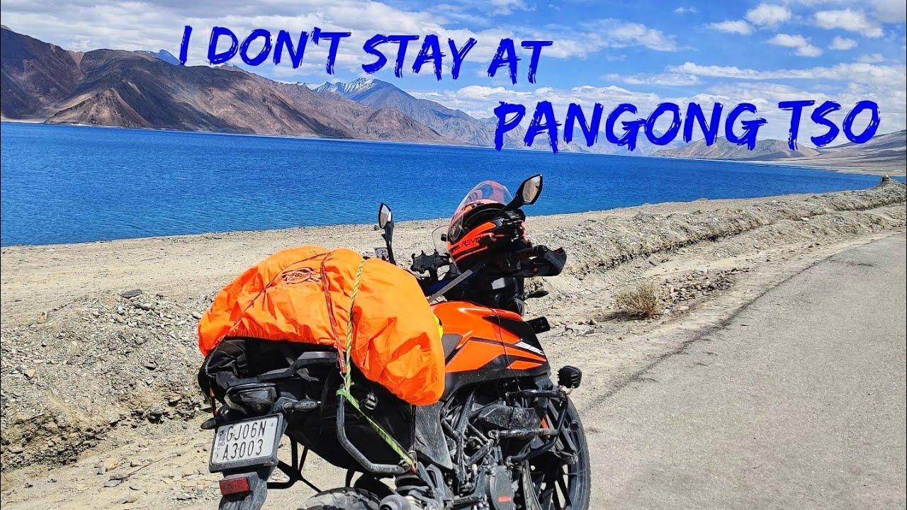 Hunder to pangong to leh - vadodara to ladakh - 2021 - solo