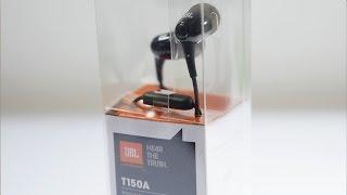 JBL T150A Budget Earphones Review Kickass Sound!