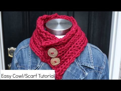 How to Knit a Cowl/Scarf