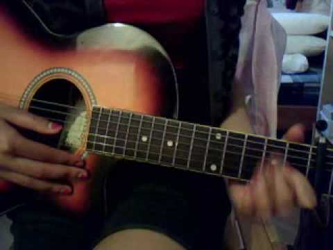 Butterfly Fly Away By Miley Cyrus Guitar Tutorial Youtube