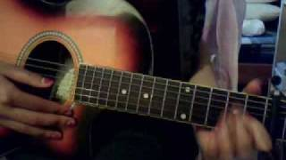 Butterfly fly away  - By Miley Cyrus Guitar Tutorial