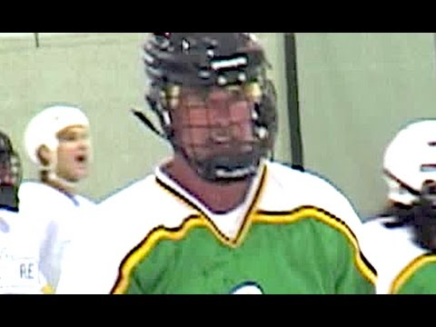Alan Thicke Plays Hockey With Keanu Reeves 2003 Youtube