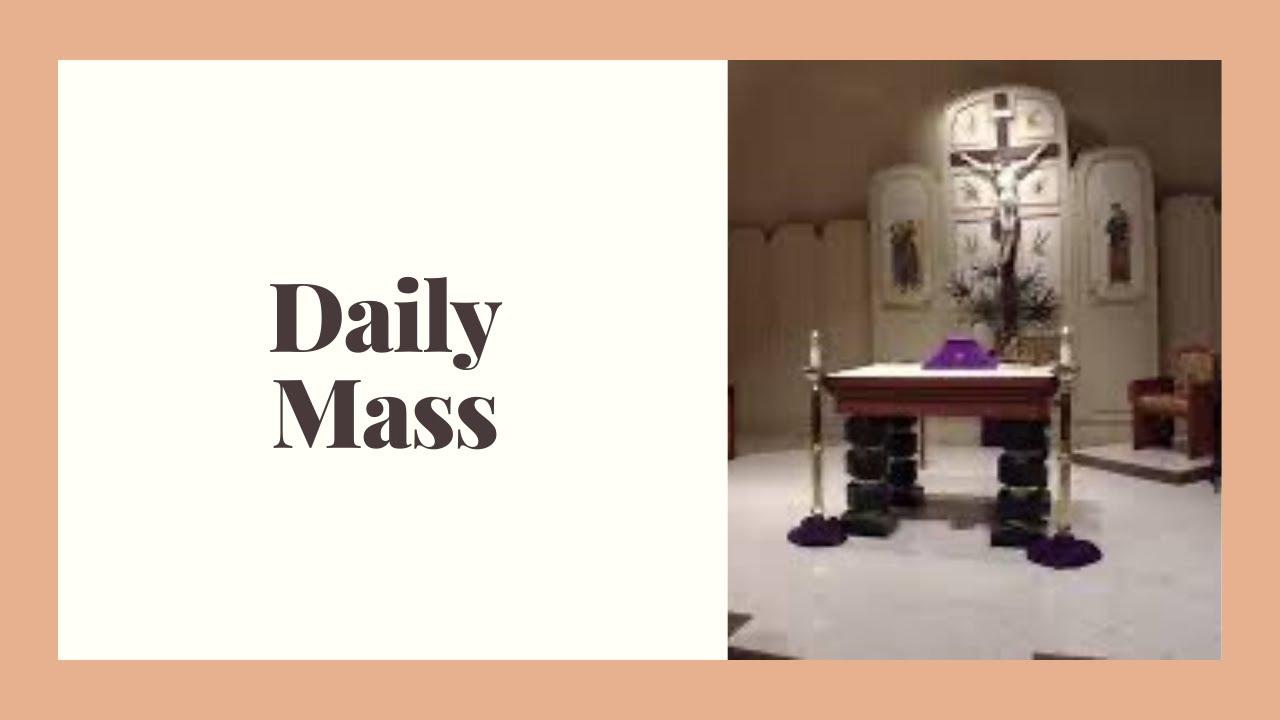 St. Anastasia Daily Mass April 27, 2020   YouTube