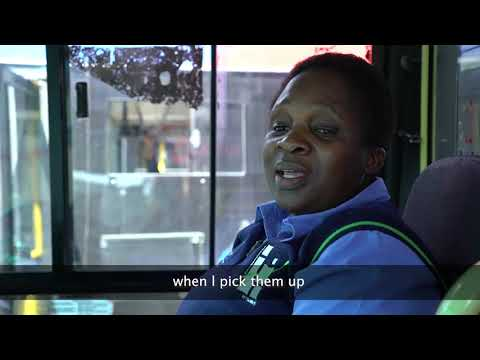 Women in Transport: Slyvia Mamida - Metrobus Driver.