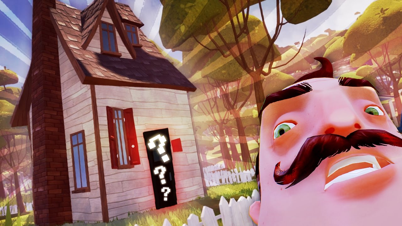 The hello neighbor house - What Secrets Are We Hiding In Our House Hello Neighbor Secrets Hello Neighbor Alpha 4