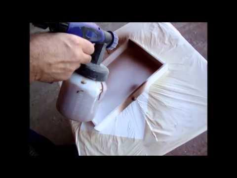 Pistola para pintura com mini compressor youtube - Como pintar a pistola ...