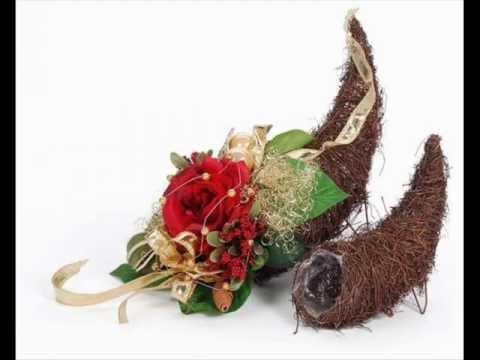 Blumendeko Hochzeit selber machen BlumenGestecke fr