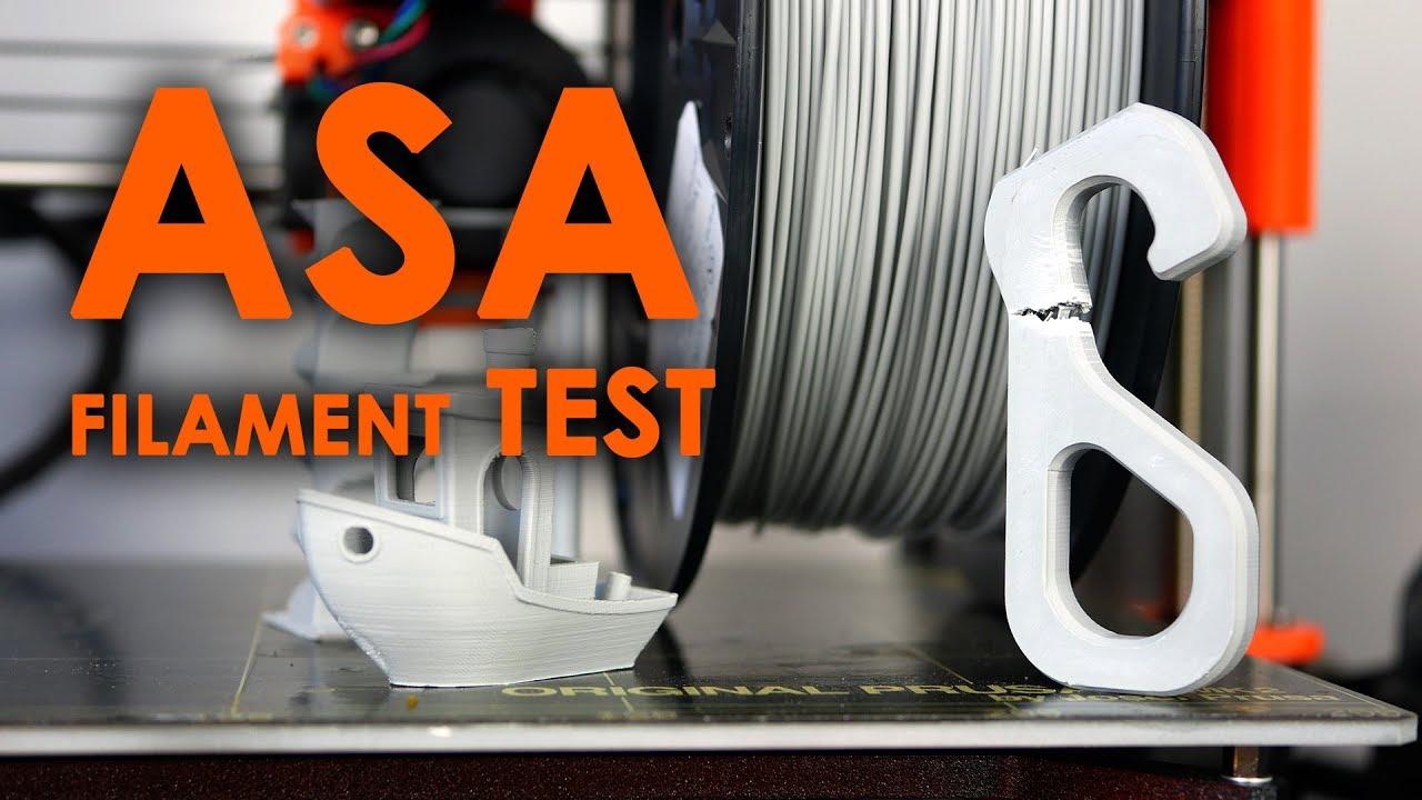 UV resistent alternative to ABS? - Plastika Trček ASA filament REVIEW