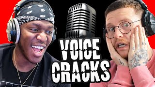 Reacting To Sidemen Voice Cracks