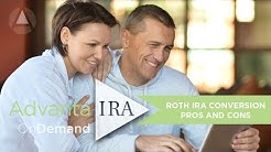 Self-Directed Roth IRA Conversions Pros & Cons