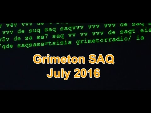 Grimeton SAQ 3.7.2016 Empfang Reception
