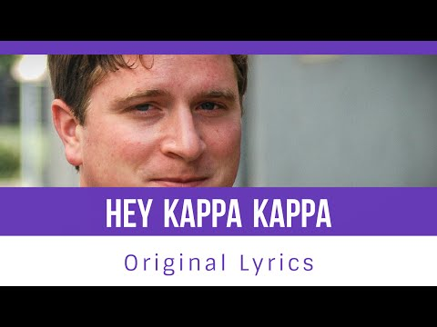 Hey Kappa Kappa (Original lyrics)