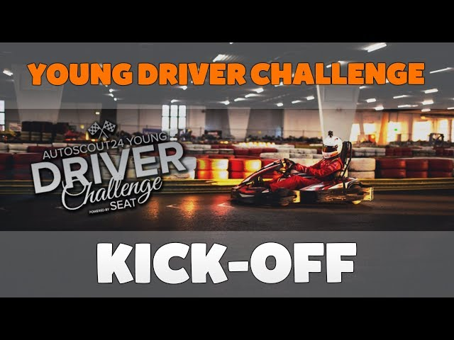 Young Driver Challenge 2019 • Kick-Off ✘ CaliSpielt