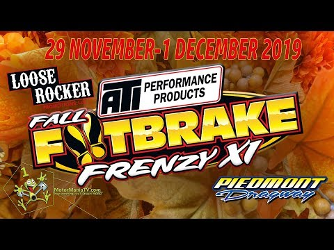 Fall FootBrake Frenzy XI -  Friday