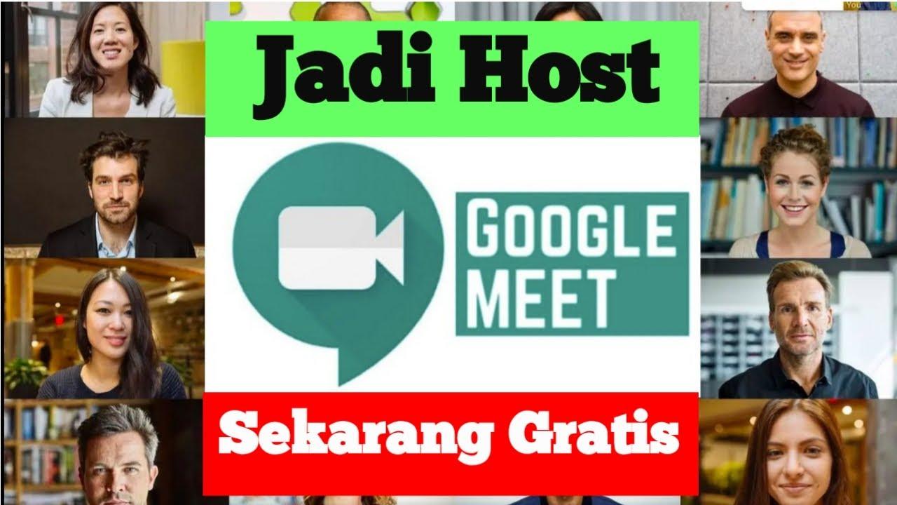 Cara Menjadi Host Dan Mengundang Teman Di Google Meet Youtube