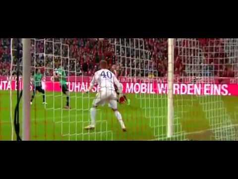 Bayern Munich vs Schalke 1:1  Bundesliga     03 02 2015