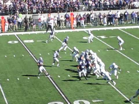 John Hubert 15 Yard TD Pass From Collin Klein K-State Baylor 10/1/2011