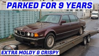 I Got a Free, Neglected & Rare V12 BMW E32 750iL Highline