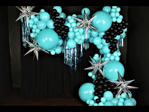 Party City Balloon Garland DIY | How To  | Tutorial | Review