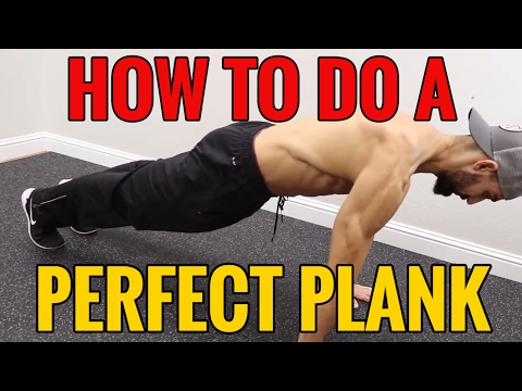 How to Do A PERFECT PLANK in 3 STEPS