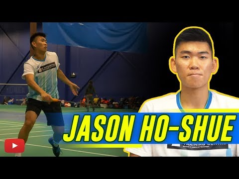 Jason Ho-Shue Badminton Player (Canada) Preparing For 2020 Olympics