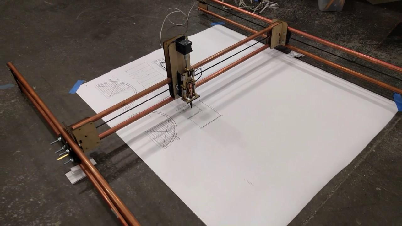 CNC (XY Plotter) mobile 4' x 3'