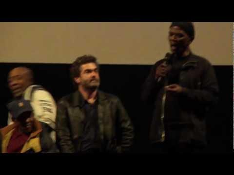 Paul Simon Interview Tuschinski Amsterdam 19-07-2012 part V Ray Phiri