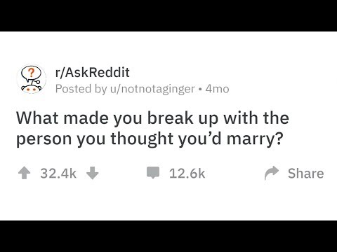 People Share Why They Broke Up With Their Fiancé Before The Wedding