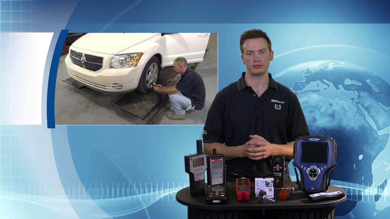 Tpms Relearn For Chrysler And Mazda Vdo Redi Sensor Youtube Installtrailerwiring2005jeeplibertytm781104644jpg