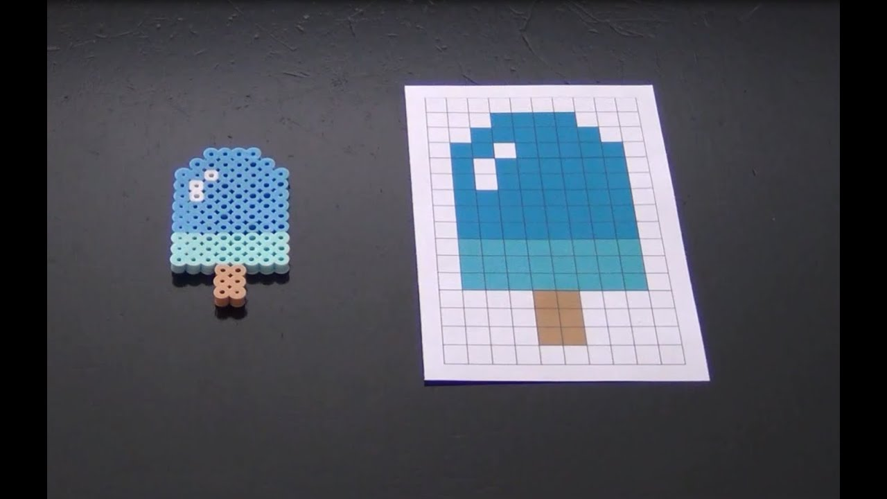 How To Make A Cute Perler Bead Popsicle YouTube