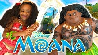 Disney Princess In Real Life Moana