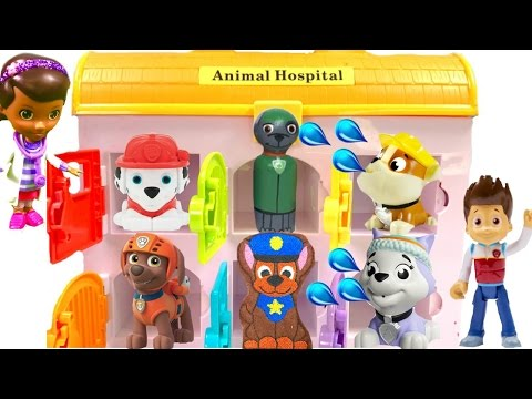 Thumbnail: Best Learning Colors Video for Children - Paw Patrol Mission Pups in Animal Hospital