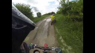 X-Sport 125cc Vs Demon X 160cc Pit Bikes - GoPro Hero 3 Black Edition HD Motocross